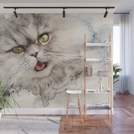 Gismo our persian tomcat Wall Mural