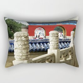 Forbidden City Photo Rectangular Pillow