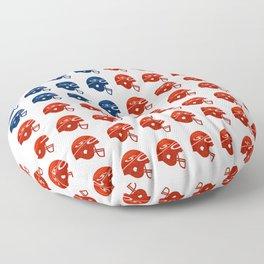 American Football Flag Floor Pillow