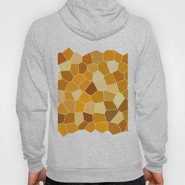 honey polygons Hoody