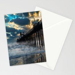 October's Dawn ~ Oceanside Pier Stationery Cards