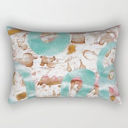 The sister to Coral Snakes Rectangular Pillow