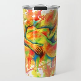 Colorful Climax Travel Mug