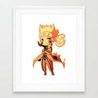 naruto Framed Art Prints featuring Naruto  by WTFmoments