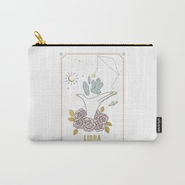 Libra Zodiac Series Carry-All Pouch