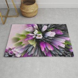 flowers and berries digital art Rug
