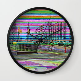 """Tuesday 12 March 2013: """"...'s no in between..."""" Wall Clock"""