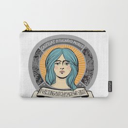 In Resting Bitch Face We Trust Carry-All Pouch