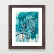 Empty nest in marine Framed Art Print