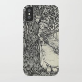The Princess and her Tree iPhone Case