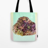 mineral Tote Bags featuring Mineral Love by Danny Ivan
