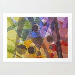 Rainbow Prism Art Print