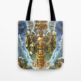 Darkstar Blue Gold Tote Bag