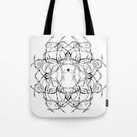 matisse Tote Bags featuring Para Matisse/ To Matisse by Luiza T. Vesey