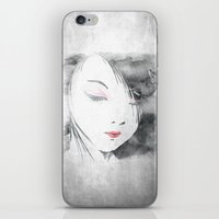 hentai iPhone & iPod Skins featuring Geisha by Nxolab