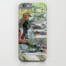 Birds on a Beach with Lovers, Eggs, and Flowers iPhone 6s Slim Case