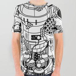 Dark Matter Space Machine All Over Graphic Tee