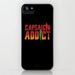 Capsaicin Addict Chili iPhone Case