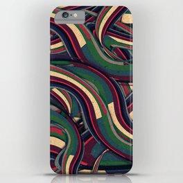Swirl Madness iPhone Case