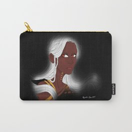 White Haired Woman Carry-All Pouch