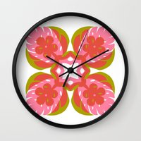 quilt Wall Clocks featuring quilt  by your mom