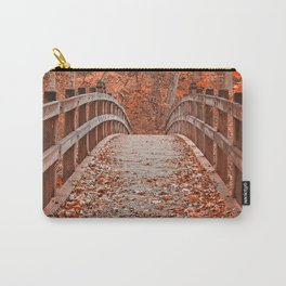 Ruby Red Bridge Carry-All Pouch