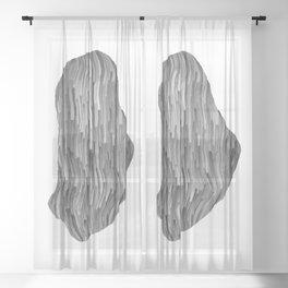 Strange Pleasure 2 Sheer Curtain