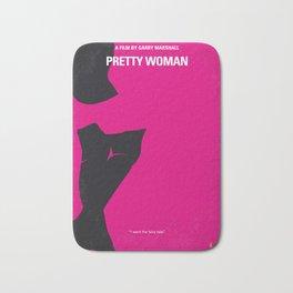 No307 My Pretty Woman minimal movie poster Bath Mat