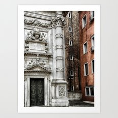 Industrial Chic Architecture Art Print