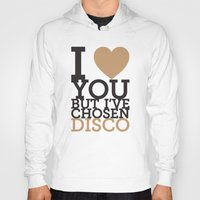 disco Hoodies featuring Disco by neil parrish
