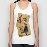 over the garden wall Tank Tops featuring Over The Garden Wall by Dasha Borisenko