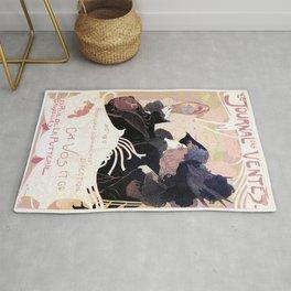 1899 Art nouveau auction journal ad Rug