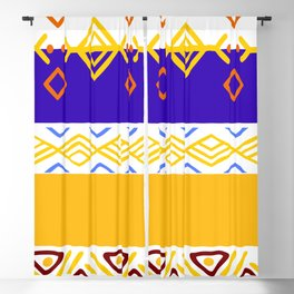 Tribal Selection Blackout Curtain