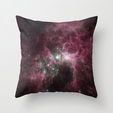 The Tortured Clouds of Eta Carinae Throw Pillow