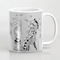 spiritual Mugs featuring Spiritual Beginning by Astrablink7