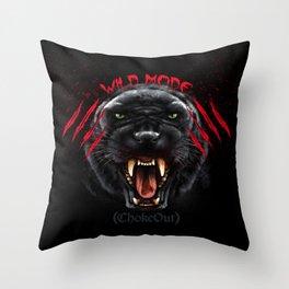 Wild Mode. Bjj, Mma, grappling Throw Pillow