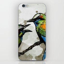 A Pair of Mot Mots iPhone Skin