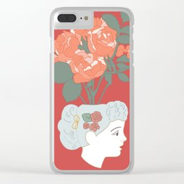 those aren't roses Clear iPhone Case