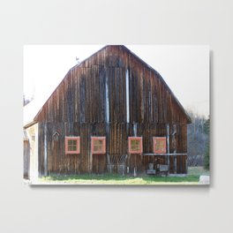 Rustic Old Country Barn Metal Print