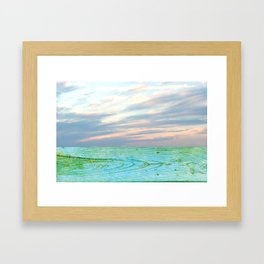 seascape 004: woodlands Framed Art Print