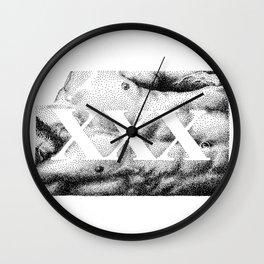 XXX - Nood Dood Wall Clock