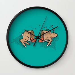 Oh Deer! Wall Clock