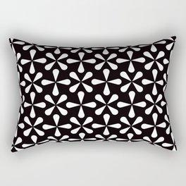 Geometric Pattern #128 (Asterisks) Rectangular Pillow