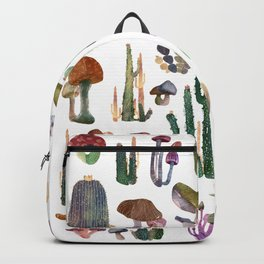 Cactus and Mushrooms NEW!!! Backpack