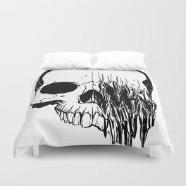 Skull (Distortion) Duvet Cover