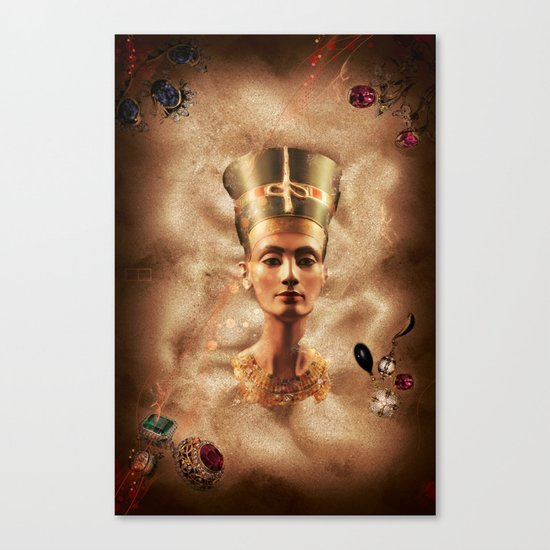 The Rising Queen Canvas Print