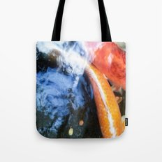 Koi Abstraction 004 Tote Bag
