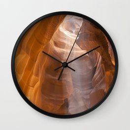 ANTELOPE CANYON Shapes & Light Wall Clock