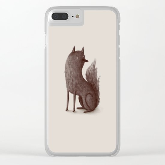 Wolfie Clear iPhone Case