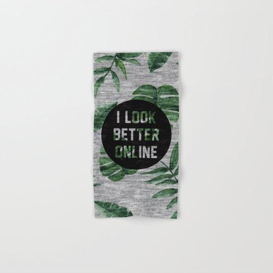 I Loook Better Online Hand & Bath Towel